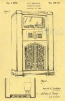 Abe was a cabinet maker and made Rockola nickelodeans - This is the patent.