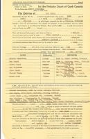 Jacob Segal- Probabte of Estate in 1938- Max Segal- Executor- Irving Holtzman- Attorney