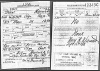 Max Hurwitz draft registration card for WWI
