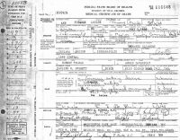 Anna Louise Thomas (1885-1968) Death certificate