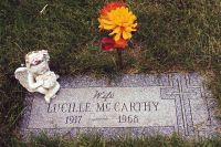 Lucille Peck McCarthy Grave