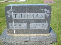 Booth U. Thomas (1854-1923) & Mary Thomas (1857-1948)
