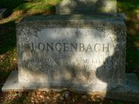 Burton Longenbach (1874-1948) & Mary Lillian Gregory (1874-1947)