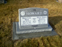 Mary Lois Peck - Headstone