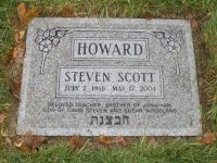 Steve Howard grave marker