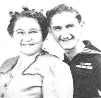 Rose Segal Horwitz and her son Bernie Howard (nee Horwitz)
