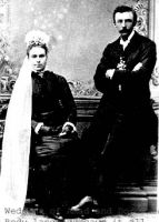 John Adam Wehrwein and Dorothea Stoltenberg wedding, 11 Oct 1881