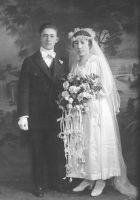 Isadore and Florence Dorin- Wedding Photo