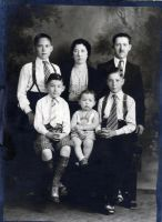 Florence & Isadore Dorin family- sans 1- 1939.