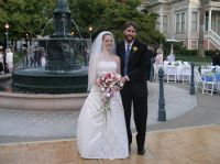 Dr. Kate Mayland and her twin brother, Dr. Gabe Mayland Redwine at her wedding