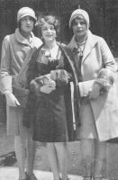 Betty Klinetsky and her friends Elsie Rosenthal and Anna Shiff