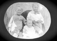 Philip, Jean and Shelah as young children