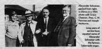 Charles Penrose in 1924 photo with Alexander Schreiner and others