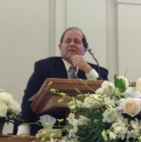Dave Howard speaking at Mom's funeral