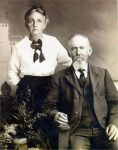 Allen Gibbons (1853-1927) & Anna Eliza Luther (1860-1941)