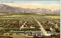 Salida, Co Panorama (Historic Post Card)